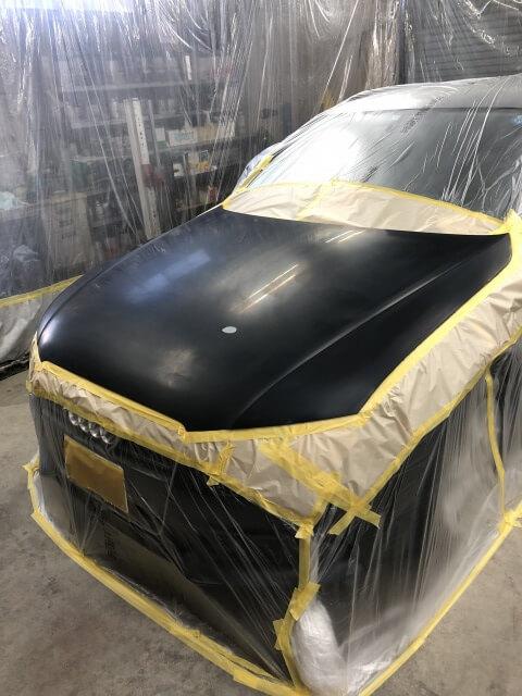 イオンシャワーマグナムはボンネットなどの上面塗装におすすめ