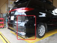トヨタ ACR50 エスティマ車両保険を使った修理