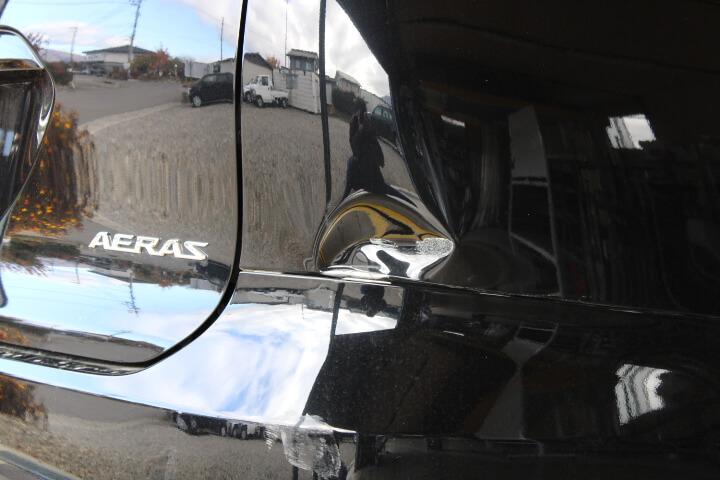 トヨタ ACR50 エスティマ 右ウォーターパネルのヘコミ