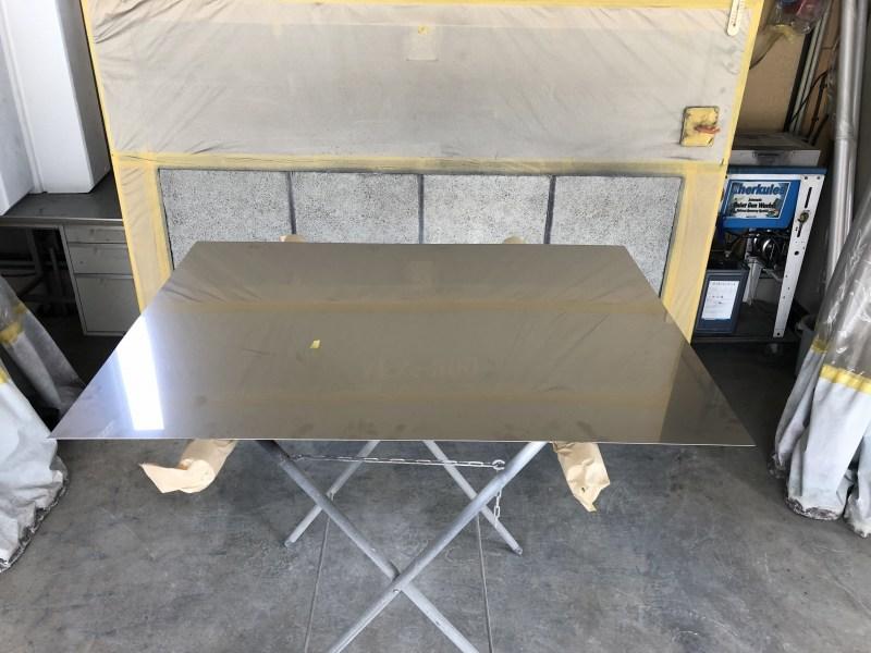 ステンレス鋼板の塗装