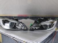 VOLVO V60 ヘッドライト表面膜の劣化修理⇒UVヘッドライトコーティングRX3240