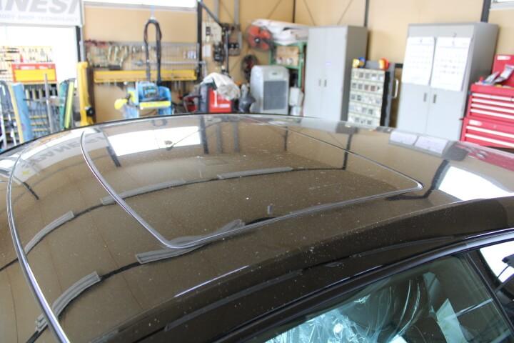 キャデラックCTS-V 洗車する前の汚れ