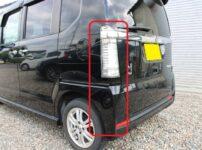 ホンダ JF1 N-BOX 車両保険を使って修理(部品交換)