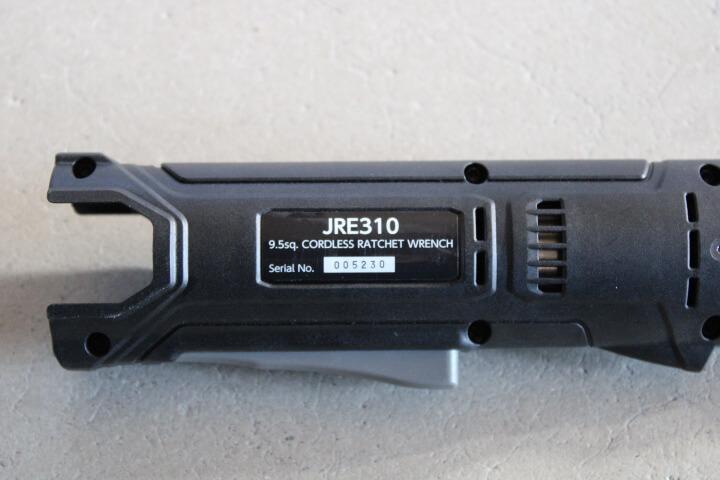 9.5sq.コードレスラチェットレンチ JRE310